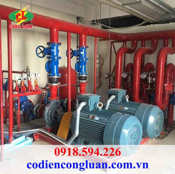 Ứng dụng motor QM Y3-280M-4