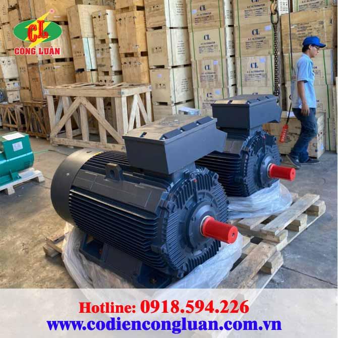 Motor điện Y3-250M-6 hiệu QM