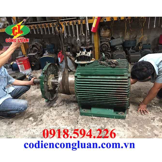 sửa chữa mô tơ điện